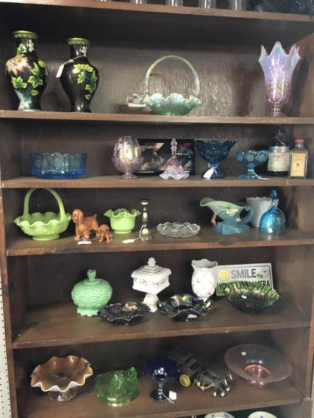 Antique and vintage glassware ranges from simple to fantastic, and affordable to outrageous - literally something for everyone.